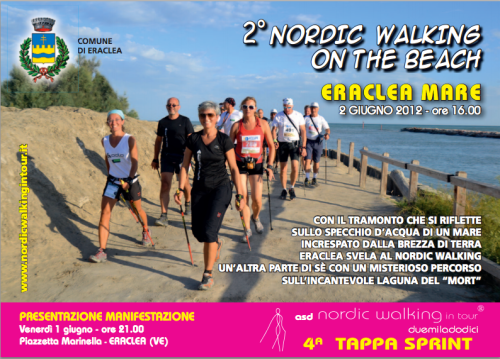 2° NORDIC WALKING ON THE BEACH A ERACLEA MARE